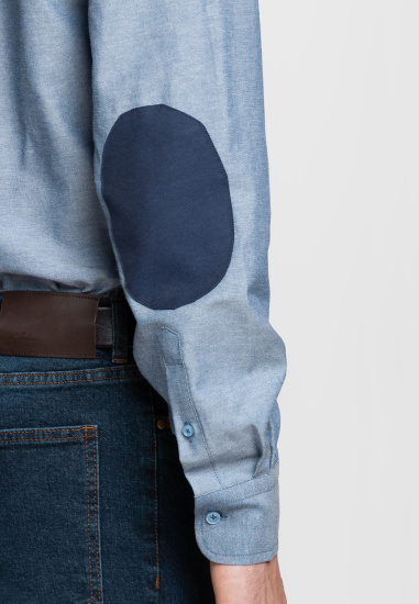 Сорочка з довгим рукавом Arber модель AL05.12.11 — фото 5 - INTERTOP