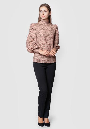 Блуза з довгим рукавом Arber модель AMW25.01.17 — фото 2 - INTERTOP