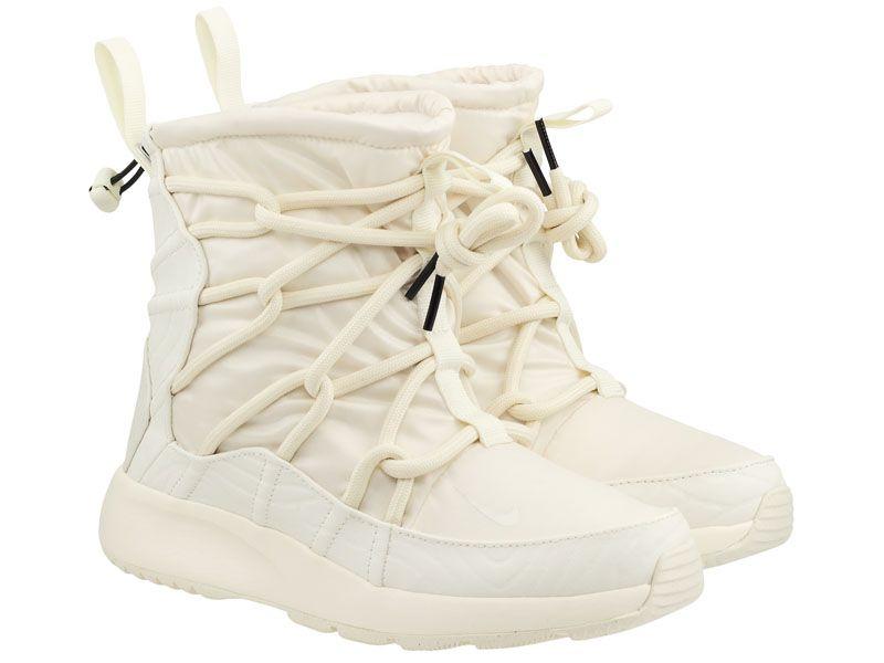Черевики  для жінок Nike Tanjun High Rise Beige AO0355-003 розмірна сітка взуття, 2017