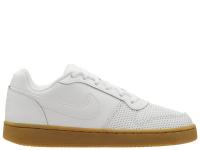 Кеды для женщин WMNS NIKE EBERNON LOW PREM White AQ2232-101 размерная сетка обуви, 2017