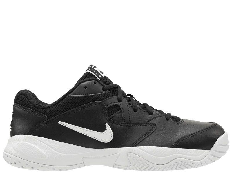 Купить Кроссовки теннисные мужские NIKE COURT LITE 2 Black AR8836-001, Черный