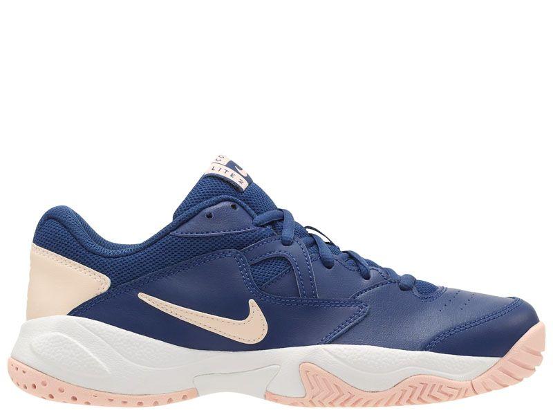 Купить Кроссовки теннисные женские WMNS NIKE COURT LITE 2 Blue AR8838-400, Синий