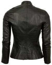 Куртка кожаная женские Armani Jeans модель AY1529 , 2017