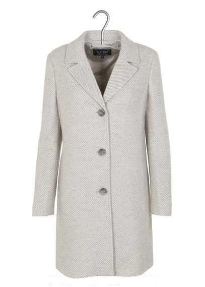 Купить Пальто модель AY1679, Armani Jeans, Серый