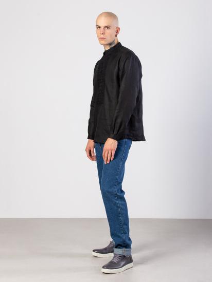Сорочка з довгим рукавом Etnodim модель Apollo_black_etnd — фото 3 - INTERTOP