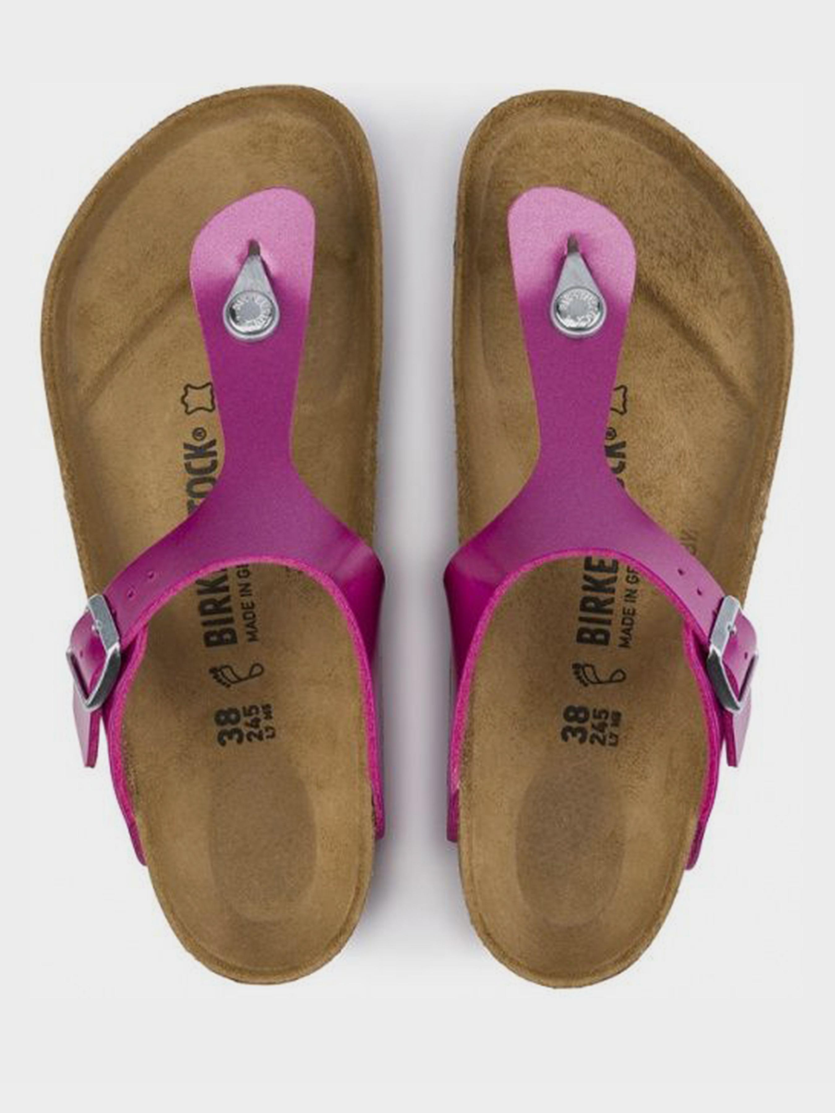 Шлёпанцы женские Birkenstock Gizeh BJ60 купить обувь, 2017