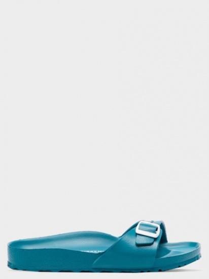 Шльопанці на пласкій підошві Birkenstock - фото