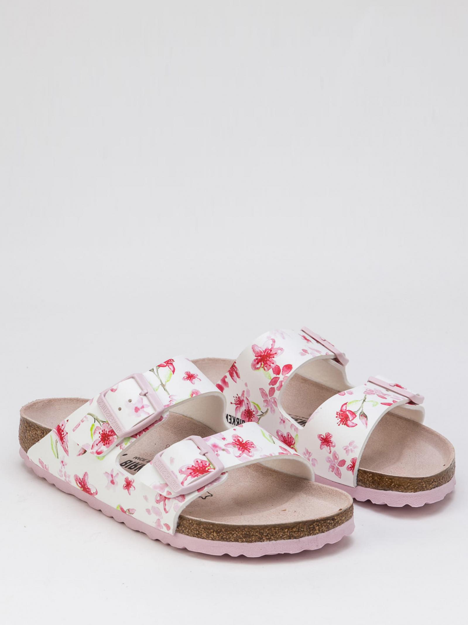 Шльопанці  жіночі Birkenstock Arizona BFDD Blossom White R 1016440 взуття бренду, 2017
