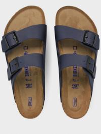 Шлёпанцы мужские Birkenstock Arizona SFB BF Blau R 51061 размерная сетка обуви, 2017
