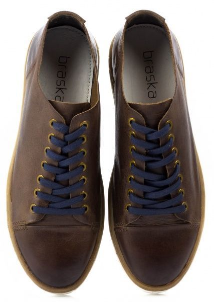 Полуботинки для мужчин BRASKA BR1282 размерная сетка обуви, 2017