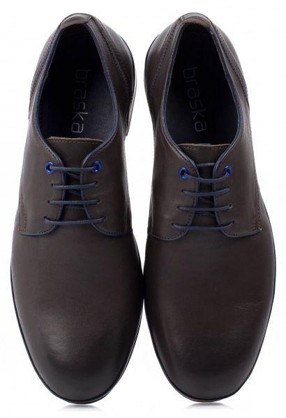 Полуботинки для мужчин Braska BR1283 размерная сетка обуви, 2017