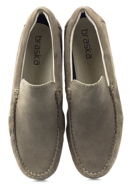 Полуботинки для мужчин Braska BR1291 брендовая обувь, 2017