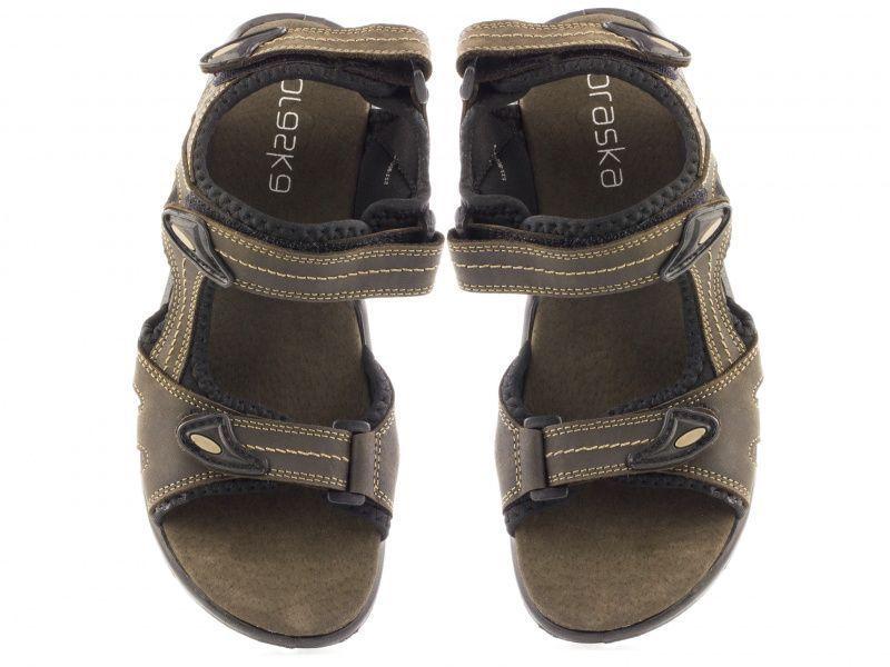 Сандалии мужские Braska BR1374 размерная сетка обуви, 2017