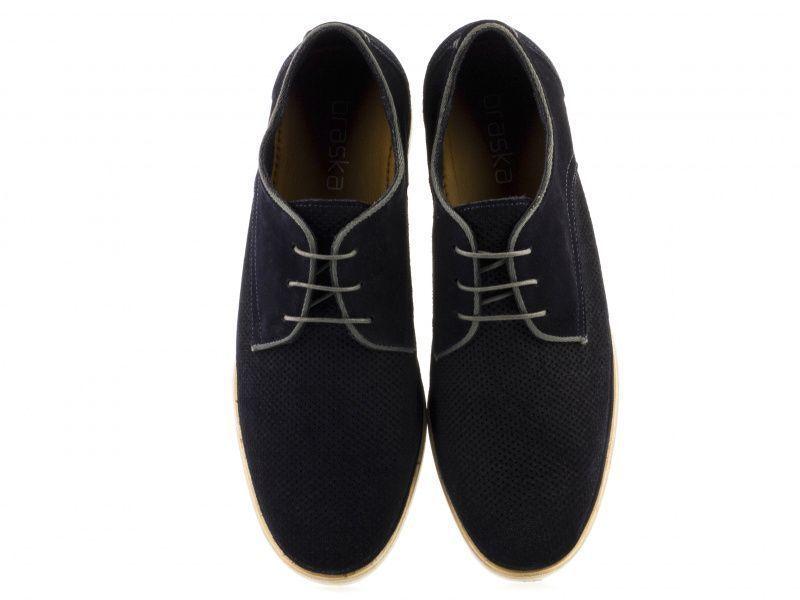 Полуботинки для мужчин Braska BR1377 брендовая обувь, 2017