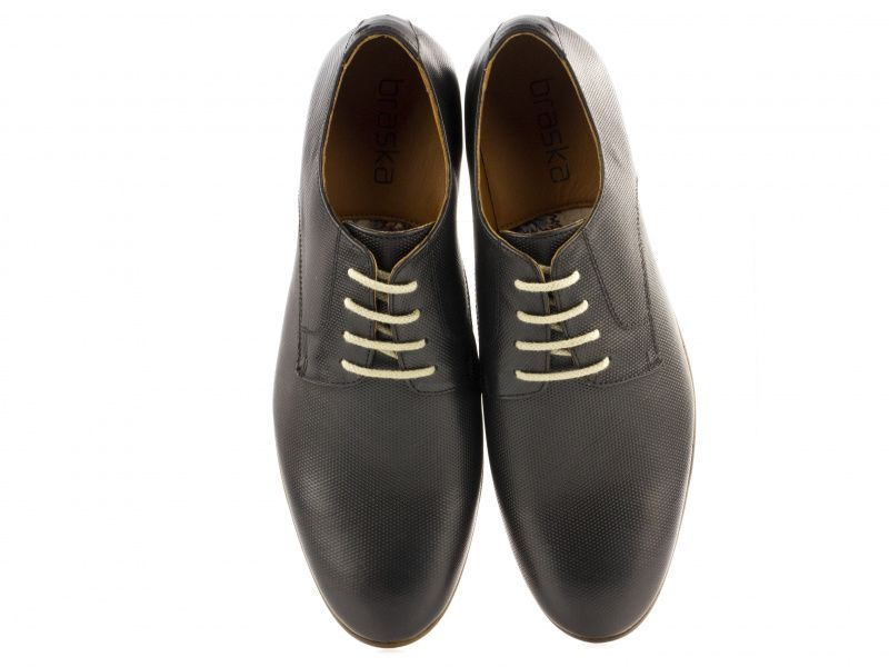 Полуботинки для мужчин Braska BR1385 брендовая обувь, 2017