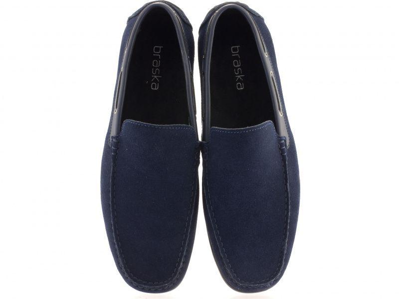 Мокасины мужские Braska BR1424 размерная сетка обуви, 2017