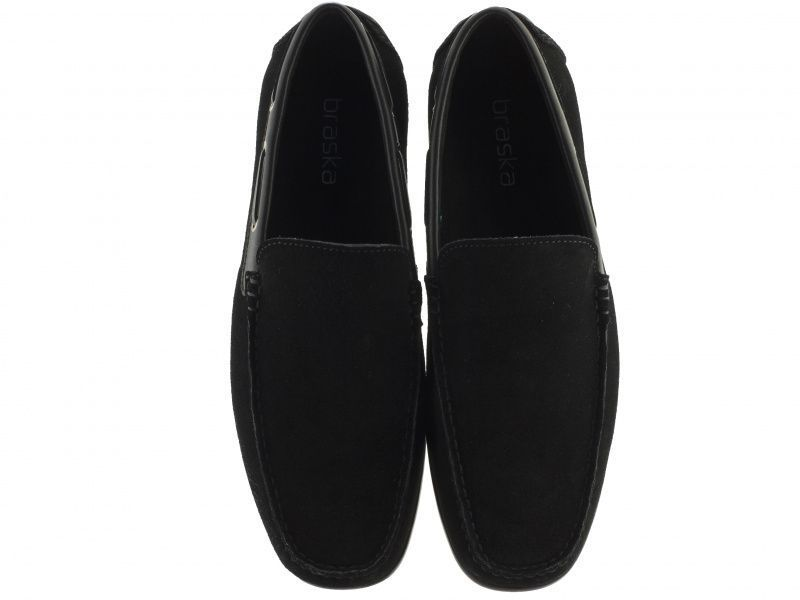 Мокасины мужские Braska BR1425 размерная сетка обуви, 2017