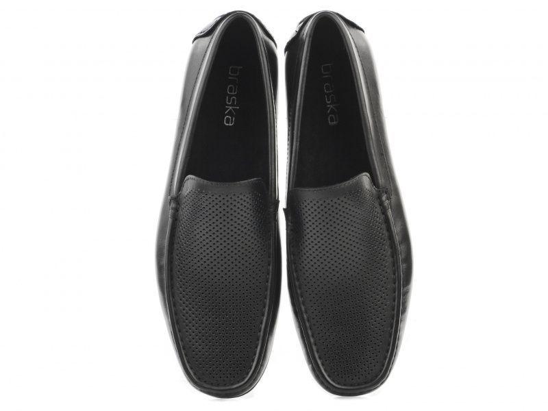 Мокасины мужские Braska BR1427 размерная сетка обуви, 2017