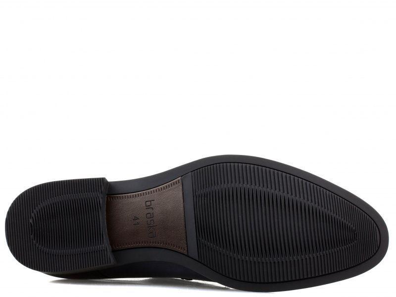 Полуботинки для мужчин Braska BR1460 брендовая обувь, 2017
