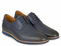Синие мужские туфли , 2017