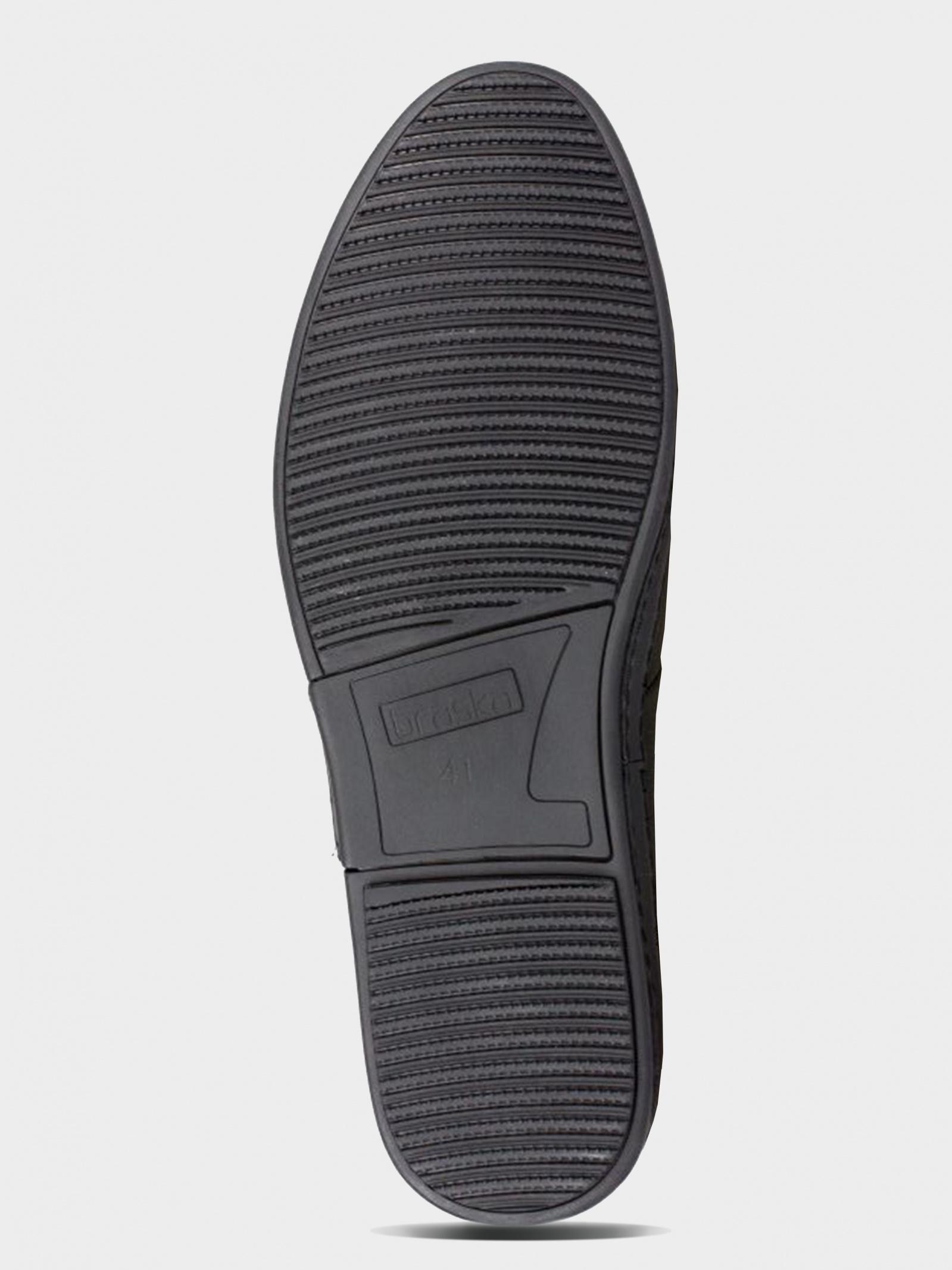 Туфли для мужчин Braska BR1505 размерная сетка обуви, 2017