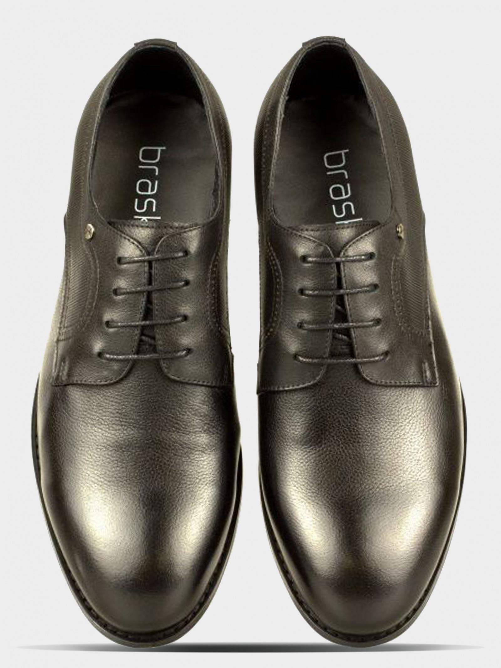 Туфли для мужчин Braska BR1518 размерная сетка обуви, 2017
