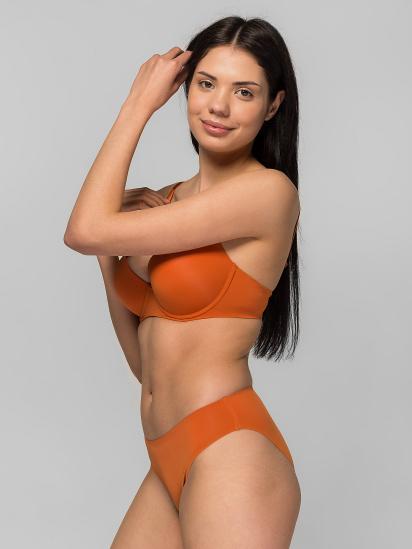 Труси brabrabra модель SLZ19802001-темний апельсин — фото - INTERTOP