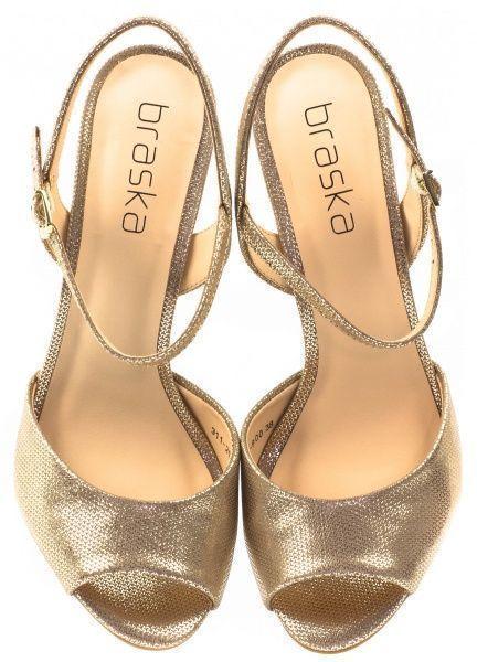 Босоножки для женщин Braska BS2376 брендовая обувь, 2017