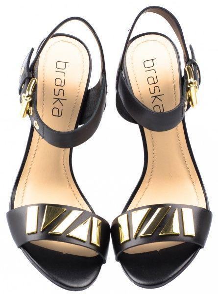 Босоножки для женщин Braska BS2380 брендовая обувь, 2017