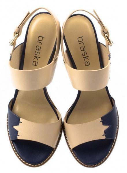 Босоножки для женщин Braska BS2415 брендовая обувь, 2017