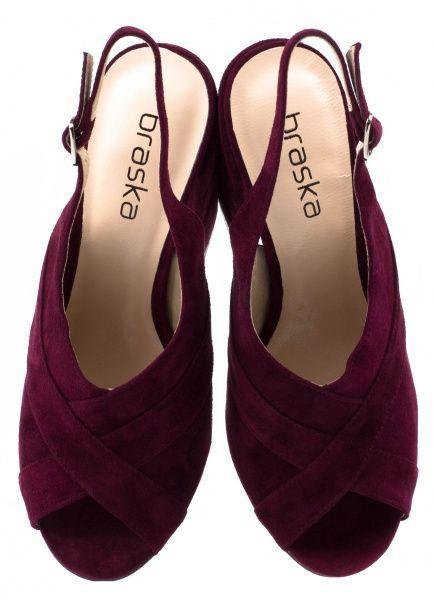 Босоножки для женщин Braska BS2446 брендовая обувь, 2017