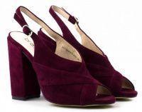 женская обувь Braska бордового цвета характеристики, 2017