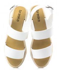 Сандалии для женщин Braska BS2448 модная обувь, 2017