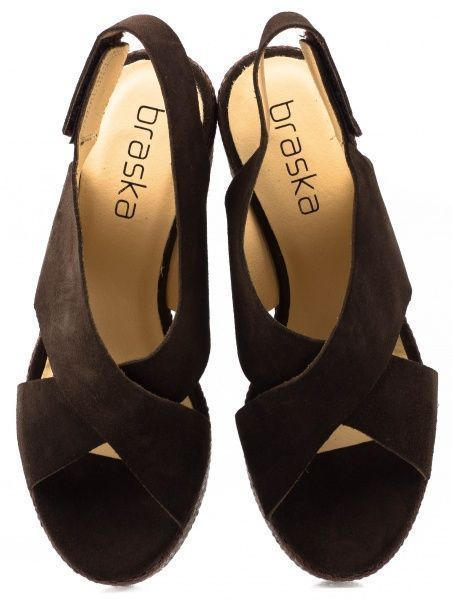 Босоножки для женщин Braska BS2480 брендовая обувь, 2017