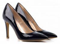 Женские туфли синие, фото, intertop