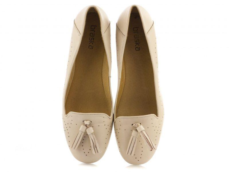 Балетки для женщин Braska 513-1502/104 брендовая обувь, 2017