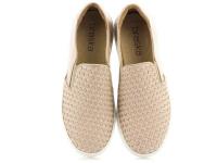 Слипоны для женщин Braska 513-68204/118 брендовая обувь, 2017