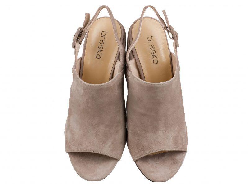 Босоножки для женщин Braska BS2876 модная обувь, 2017