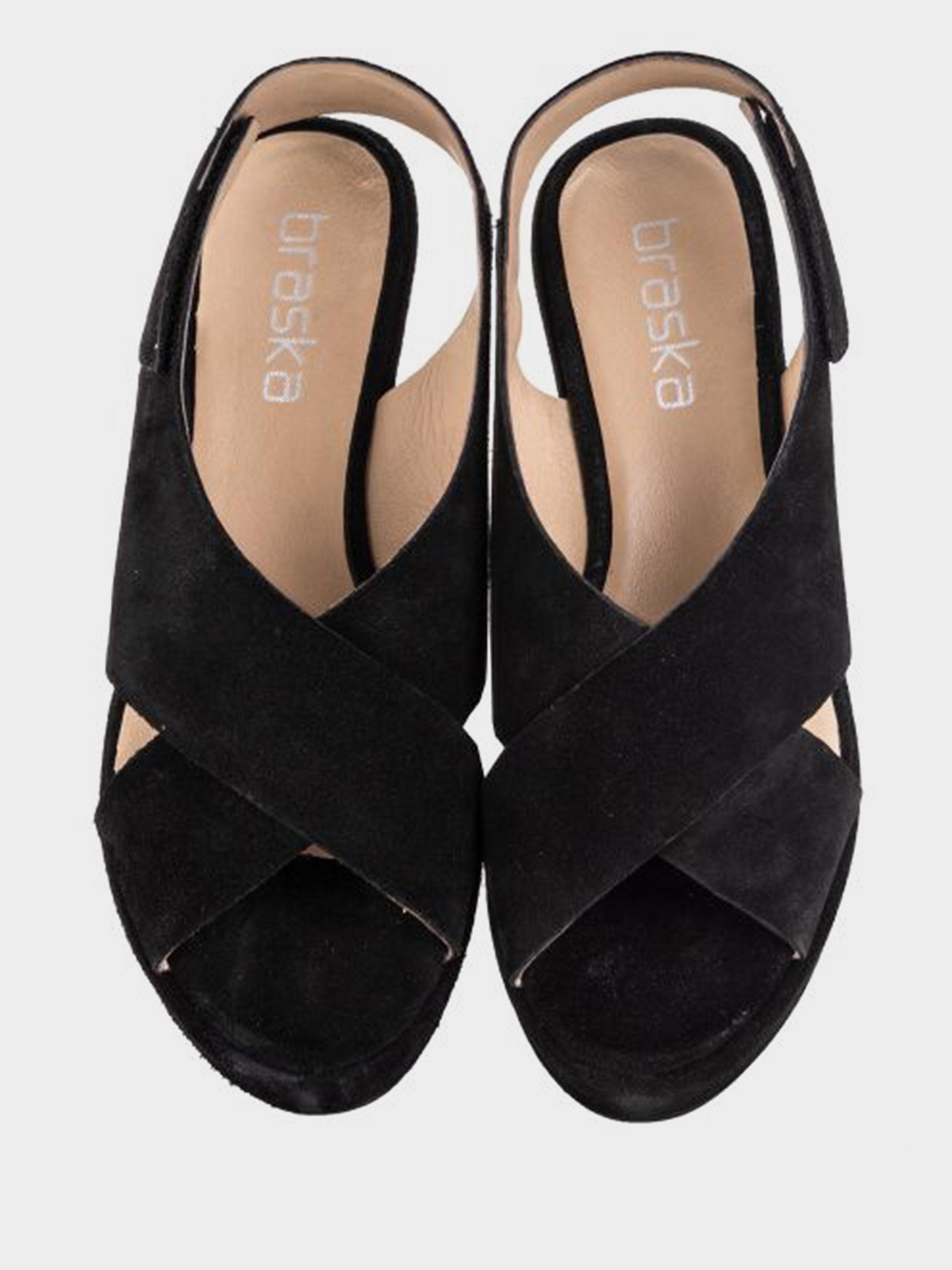 Босоножки женские Braska BS3051 размерная сетка обуви, 2017