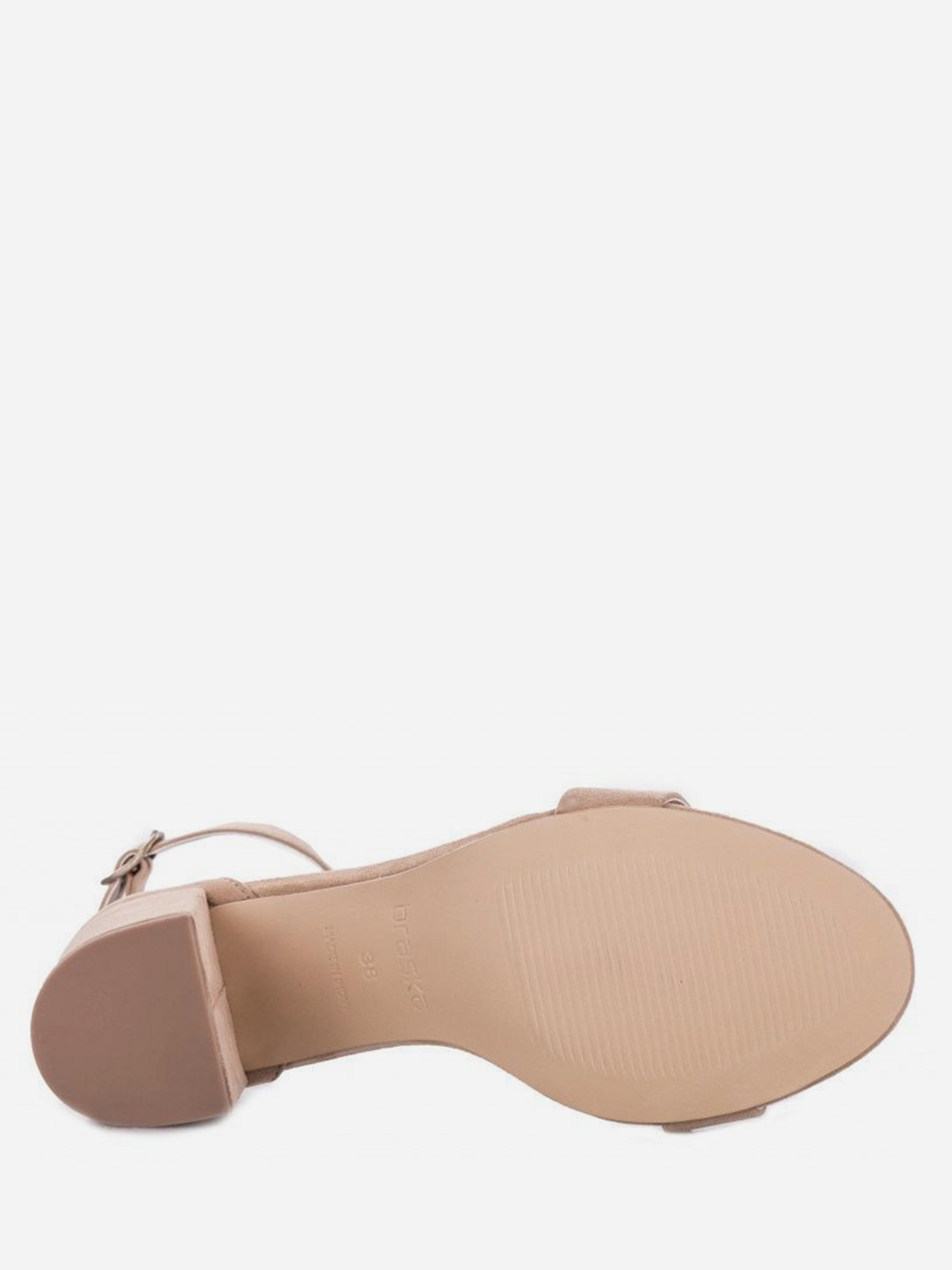 Босоножки женские Braska BS3056 размерная сетка обуви, 2017