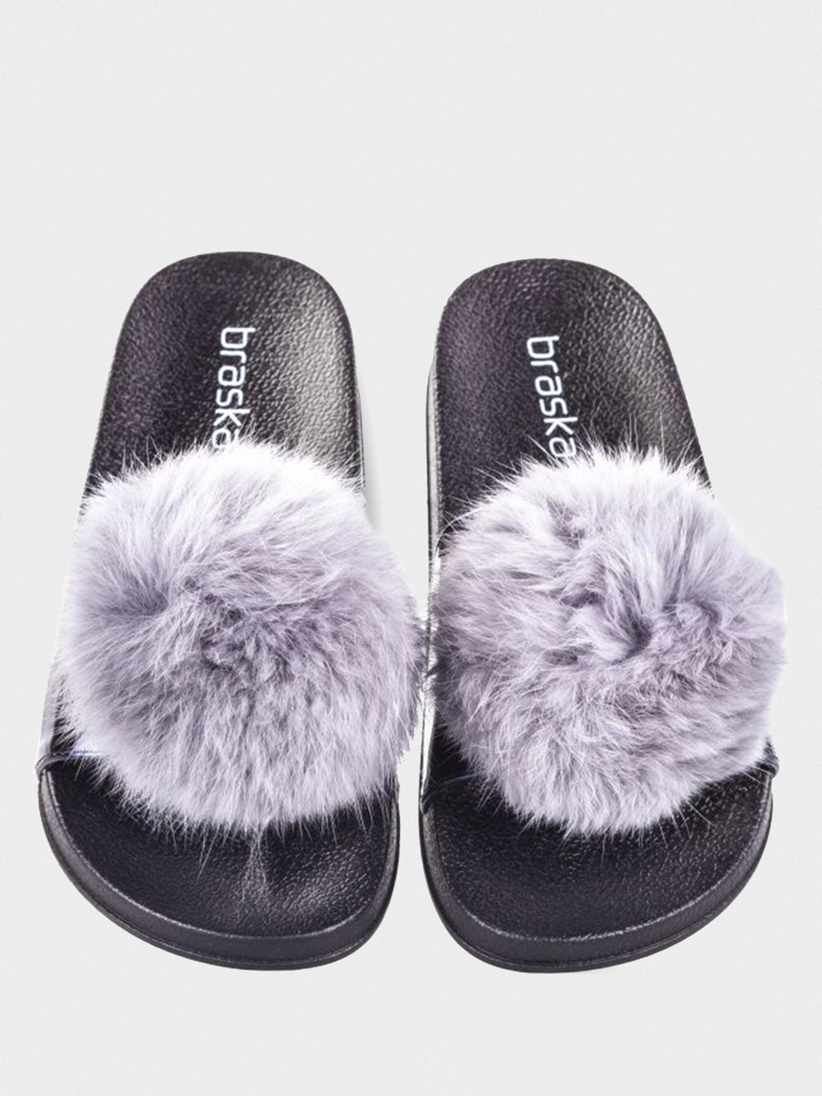 Шлёпанцы для женщин Braska BS3111 размерная сетка обуви, 2017