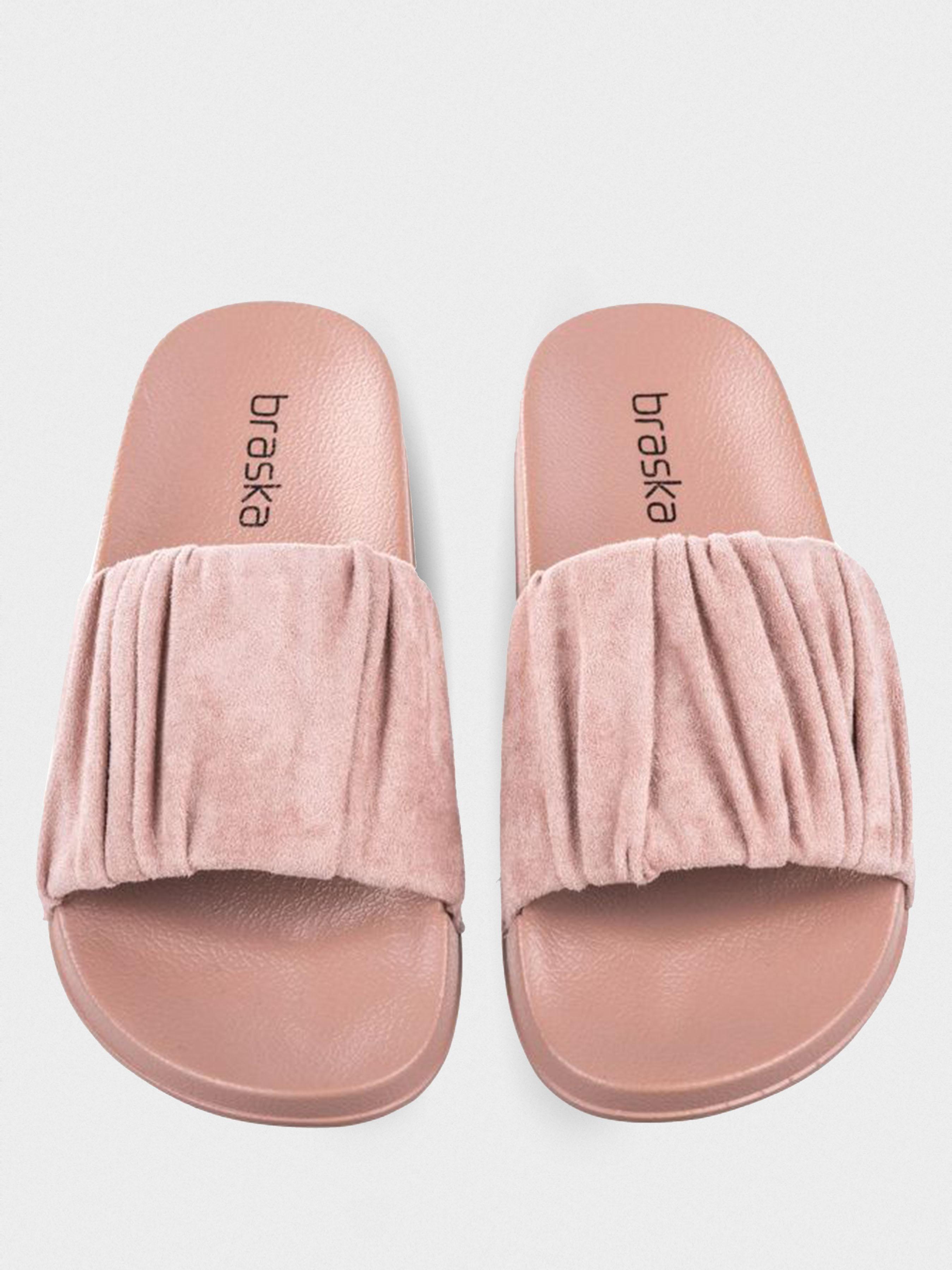 Шлёпанцы для женщин Braska BS3116 размерная сетка обуви, 2017