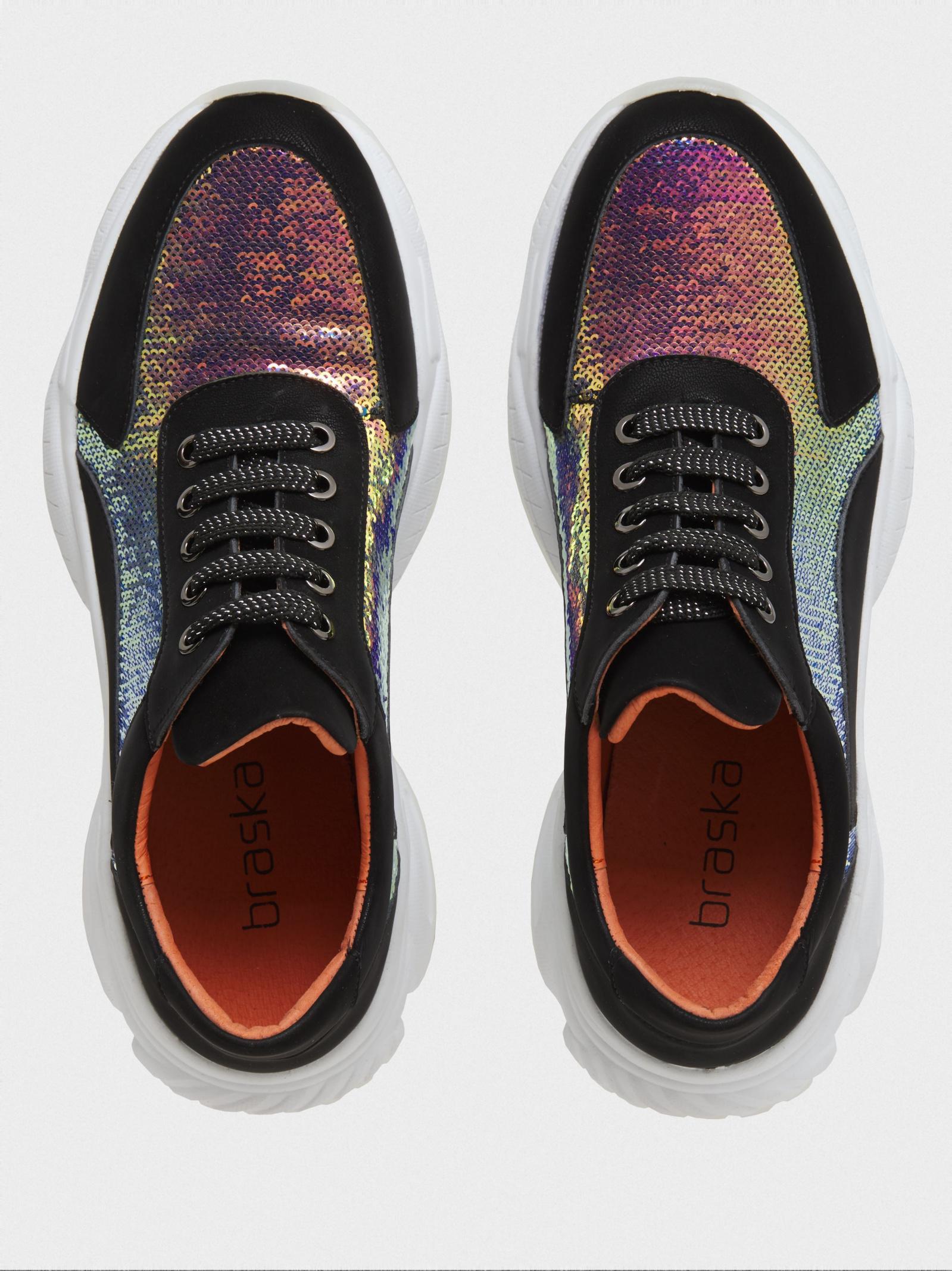 Кроссовки для женщин Braska BS3295 модная обувь, 2017