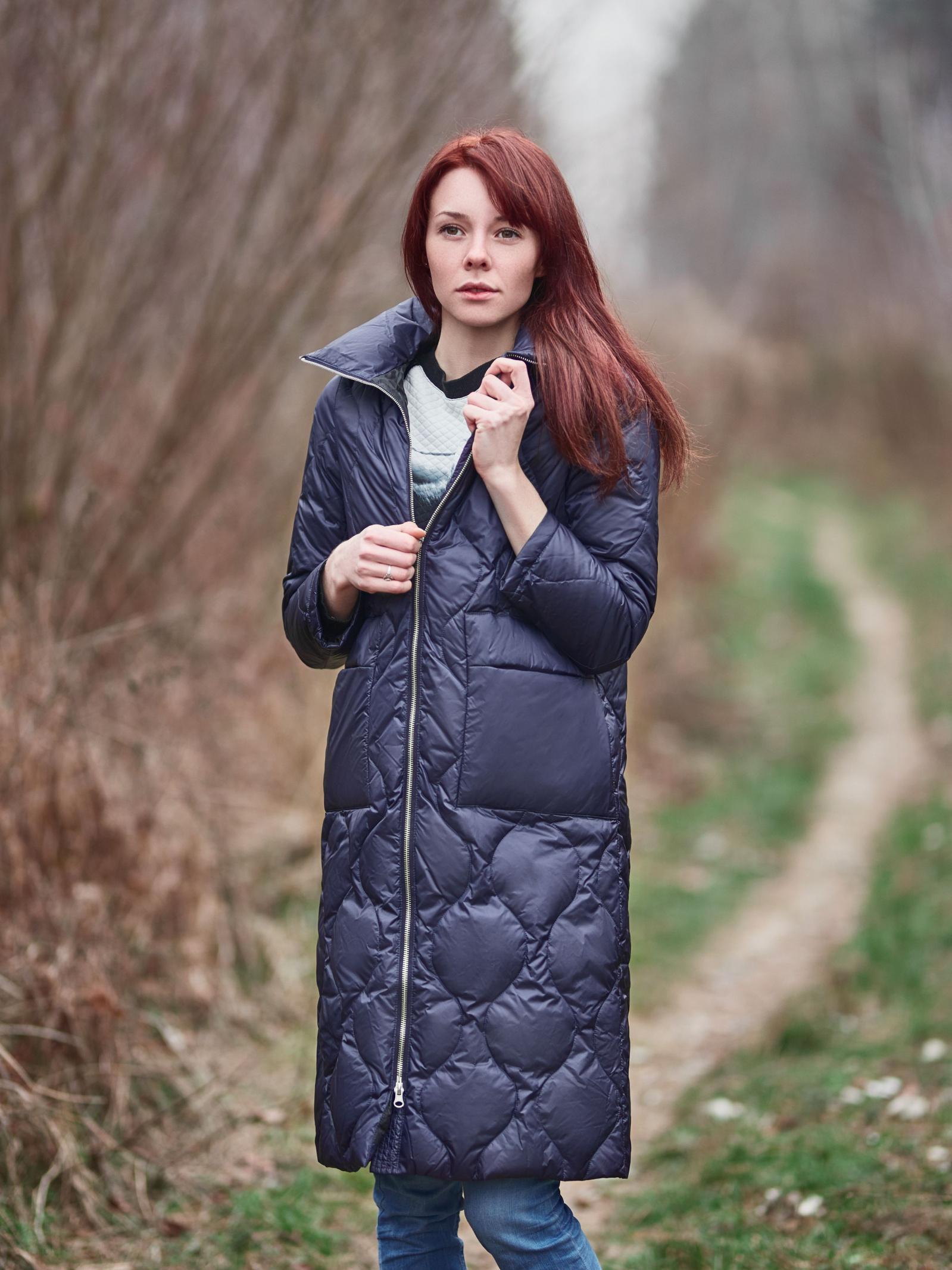 Куртка пуховая женские Braska модель BU924 качество, 2017