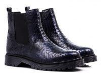 женская обувь Bronx синего цвета, фото, intertop