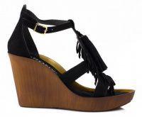 женская обувь Bronx черного цвета, фото, intertop