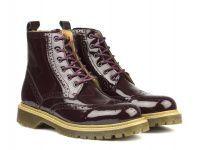 женская обувь Bronx бордового цвета, фото, intertop