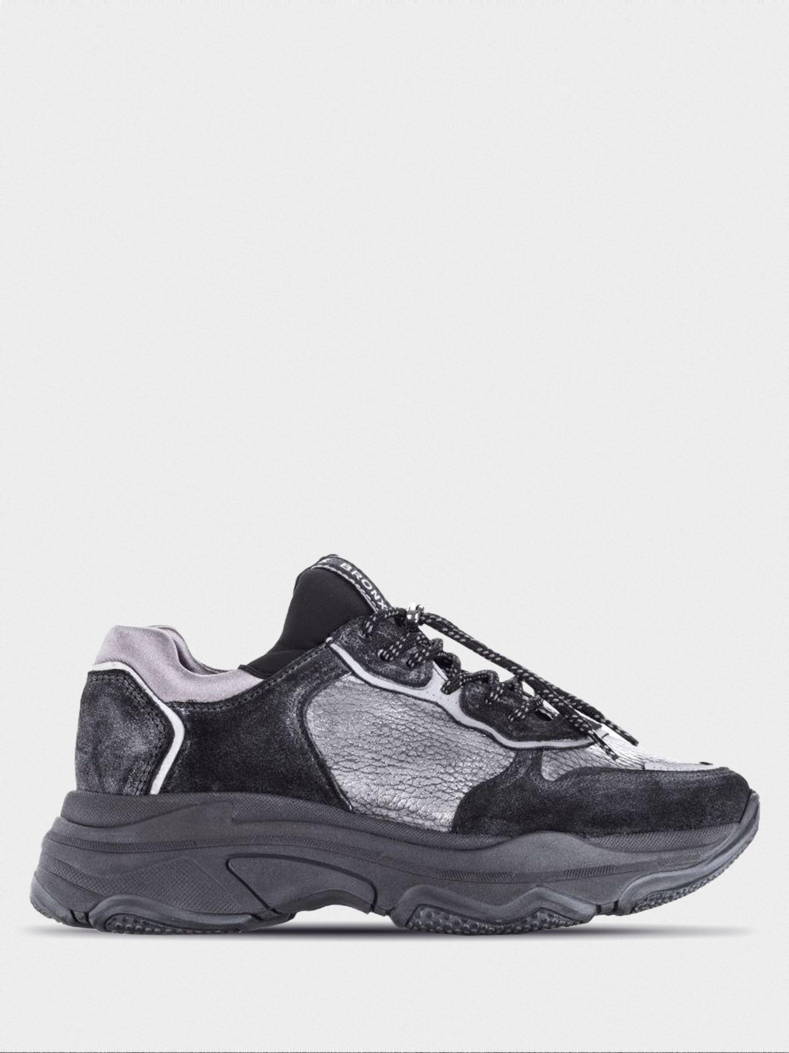 Купить Кроссовки женские Bronx baisley BX1995, Черный