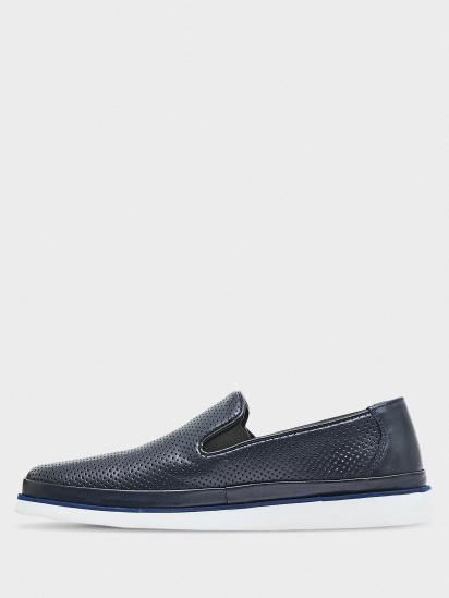 Слипоны мужские GRAF shoes SYM-AT-03 NAVY NAPA смотреть, 2017