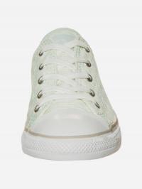 Кеды для женщин CONVERSE 555867C размерная сетка обуви, 2017